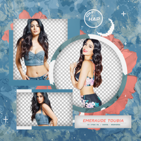 Pack Png 374 - Emeraude Toubia by BEAPANDA