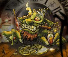 Goblin Watchmaker by Wagnr
