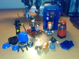 'Lego' Doctor Who by Carnivius