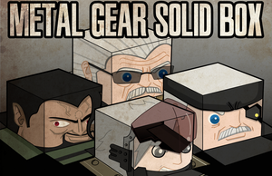 Metal Gear Solid Box by ViciousJulious