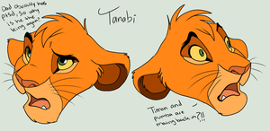 Tanabi expression practice by MalisTLK