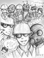 __TF2: Engie+Pyro for KIPPER-love__ by xCheckmate