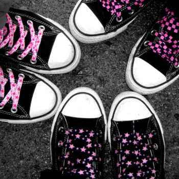 3 x chucks by ilovemyallstars