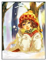 coloring contest: Winter smile by cos22