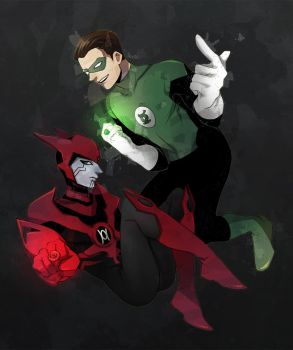 Green and Red by thefishboy