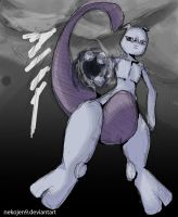 mewtwo -request- by nekojen9