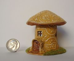 Magic Mushroom House by clevella