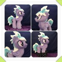 Cloudchaser plush pony is sold by Littlestplushoppe