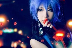 Vocaloid Kaito cosplay by boomjoy
