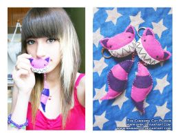 Cheshire Cat Plushie by Toxic--Berry