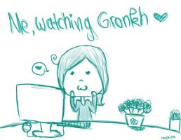 Me while I'm watching Gronkh by LazyCat125
