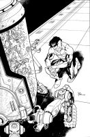 INVINCIBLE 109 cover by RyanOttley
