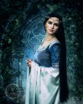 Lady in Blue by FairieGoodMother