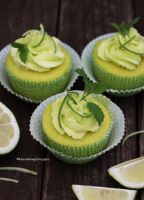 Mojito Lime Cupcakes by theresahelmer