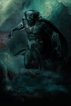 Black Panther by Aste17