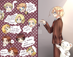 Hetalia meeting by Patynotchan