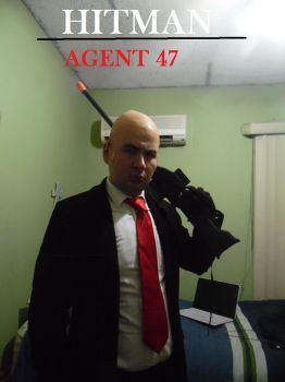 Hitman Agent 47 Cosplay. by brandonale
