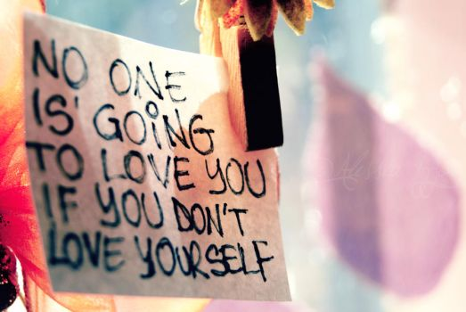 Love yourself by Alessia-Izzo