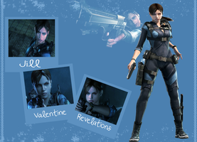 Jill Revelations Wallpaper by Canzeda