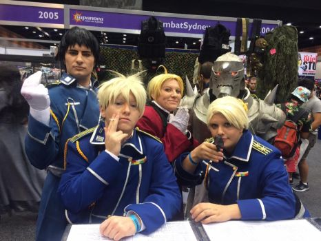 Full Metal Alchemist Group by AlternitiveUniverse