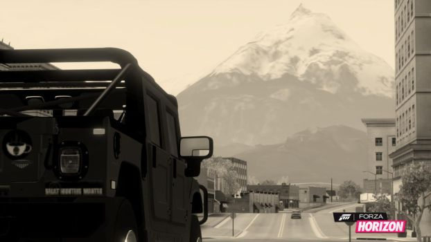 Pikes Peak or Bust by oddicusanarchaia