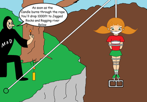 Penny Gadget and The Long Drop by Walnutwilly