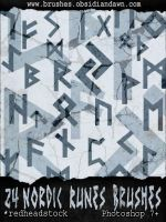 Nordic Runes GIMP Brushes by Project-GimpBC