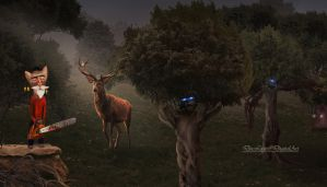 Save the forest - Stop deforestation by doclicio