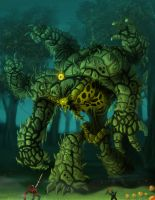 Colossus: Plane of Life by arm01