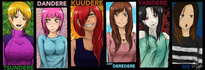 The Types Of Deres by Leuphy