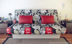 Sofa in interior by doubleagent2005