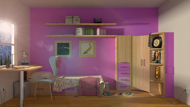 Child's room by egeres