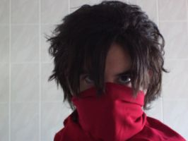 Strider Hiryu test by MaverickHunter-Zer0