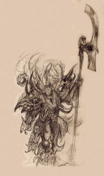 Magnus The Red: Sketch by saint-max