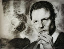 Liam Neeson by vixenw
