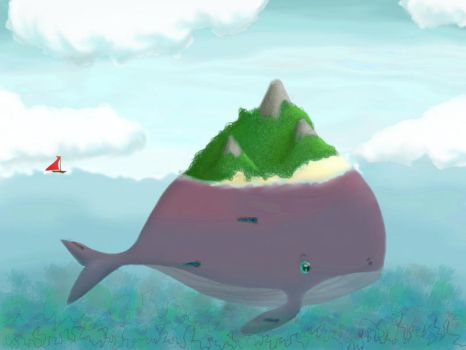 Where is Whale Island by xxmystique