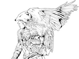 an eagle named freedom by hiropon056