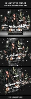 Halloween Flyer Template by MarioGembell