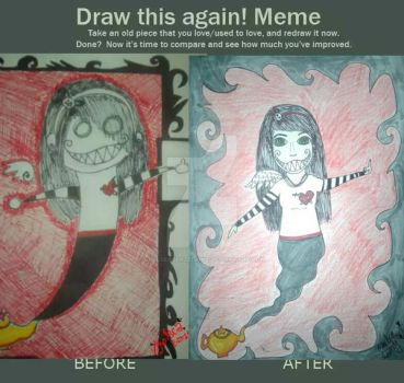 Draw This Again! - ChelseaBenzedrine2009 - 2014 by ChelseaBenzedrine
