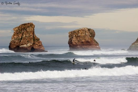 The twins - Hendaye by BastienGroelly