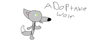 Adoptable wolf Open by raikouiscool