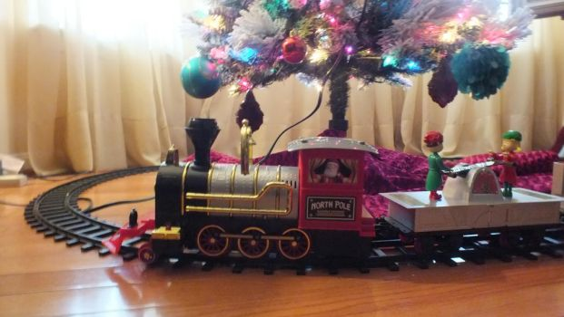 All Aboard The Christmas Express! by GimpTron