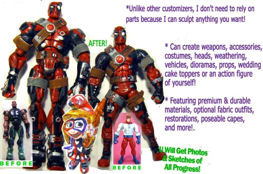 Custom Toys Introduction by mentos888