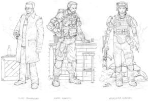 Metro 2033 RP Characters by thefirewarriors