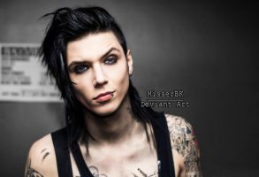 Andy Biersack - Parched by MisserBK