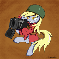 Derpy wants you on the point! by CrombieTTW
