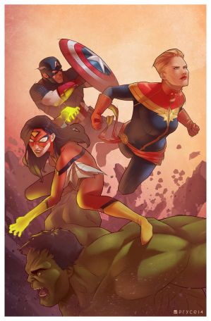 The Avengers by Pryce14