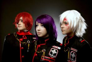 D. Gray-Man: Exorcists by tipsy-g