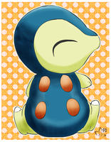 Little Cyndaquil by pichu90