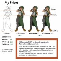 Commission Prices (Updated) by YammiJammi69